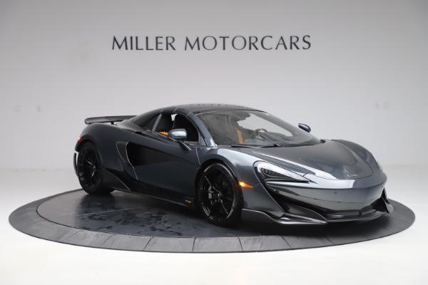 New 2020 McLaren 600LT SPIDER Convertible for sale $309,620 at Alfa Romeo of Westport in Westport CT 06880 20