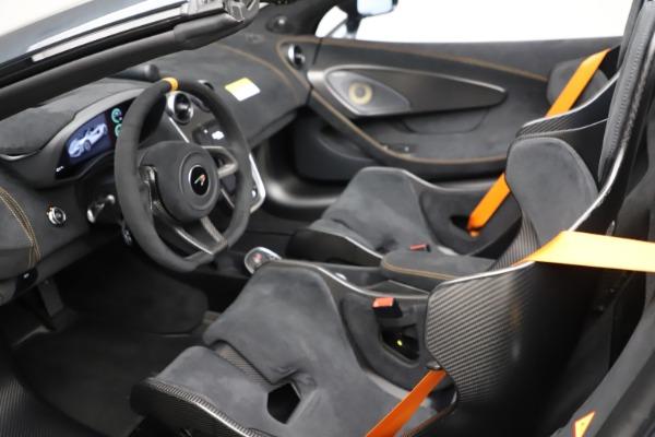 New 2020 McLaren 600LT SPIDER Convertible for sale $309,620 at Alfa Romeo of Westport in Westport CT 06880 22