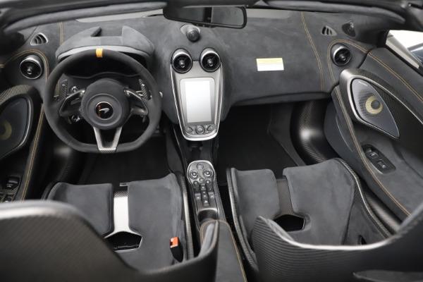 New 2020 McLaren 600LT SPIDER Convertible for sale $309,620 at Alfa Romeo of Westport in Westport CT 06880 25