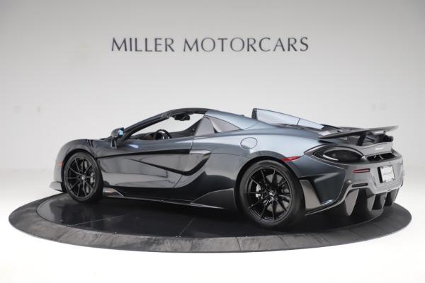 New 2020 McLaren 600LT SPIDER Convertible for sale $309,620 at Alfa Romeo of Westport in Westport CT 06880 3