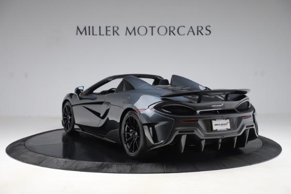 New 2020 McLaren 600LT SPIDER Convertible for sale $309,620 at Alfa Romeo of Westport in Westport CT 06880 4