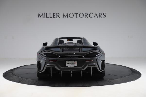 New 2020 McLaren 600LT SPIDER Convertible for sale $309,620 at Alfa Romeo of Westport in Westport CT 06880 5