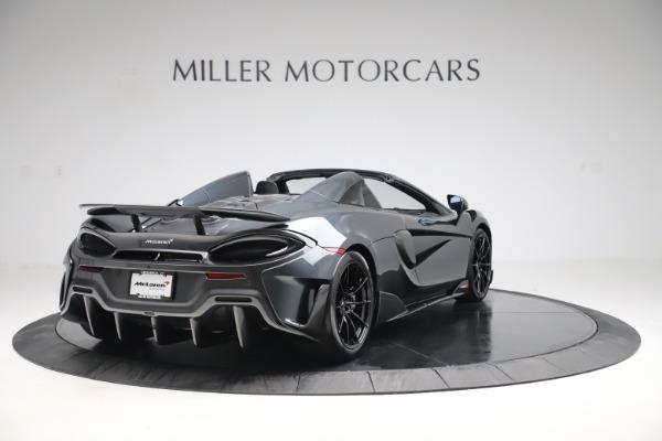 New 2020 McLaren 600LT SPIDER Convertible for sale $309,620 at Alfa Romeo of Westport in Westport CT 06880 6