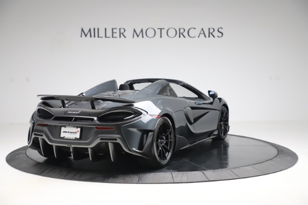 Used 2020 McLaren 600LT SPIDER Convertible for sale $249,900 at Alfa Romeo of Westport in Westport CT 06880 6