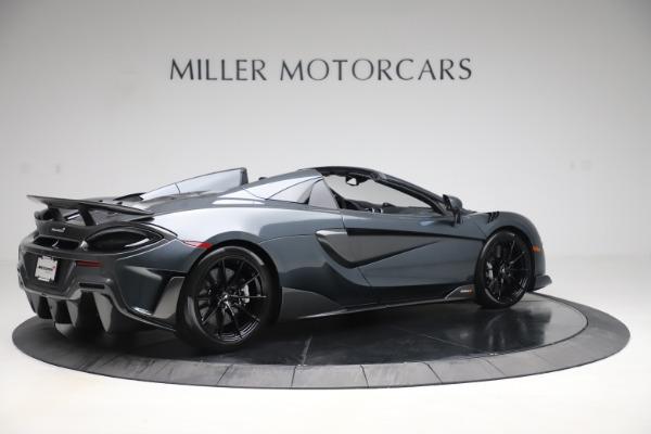 New 2020 McLaren 600LT SPIDER Convertible for sale $309,620 at Alfa Romeo of Westport in Westport CT 06880 7