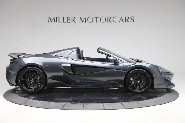 New 2020 McLaren 600LT SPIDER Convertible for sale $309,620 at Alfa Romeo of Westport in Westport CT 06880 8