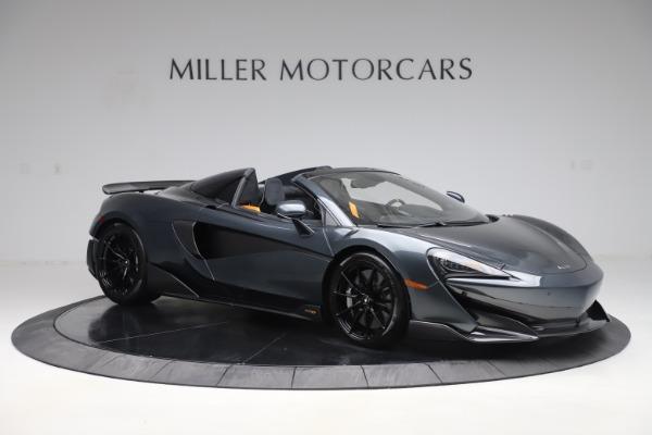 New 2020 McLaren 600LT SPIDER Convertible for sale $309,620 at Alfa Romeo of Westport in Westport CT 06880 9