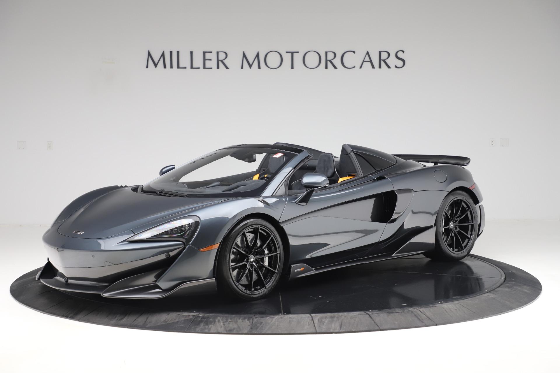 New 2020 McLaren 600LT SPIDER Convertible for sale $309,620 at Alfa Romeo of Westport in Westport CT 06880 1