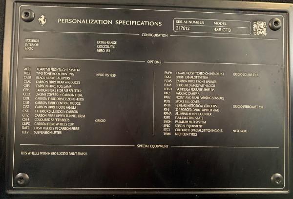 Used 2016 Ferrari 488 GTB for sale Sold at Alfa Romeo of Westport in Westport CT 06880 23