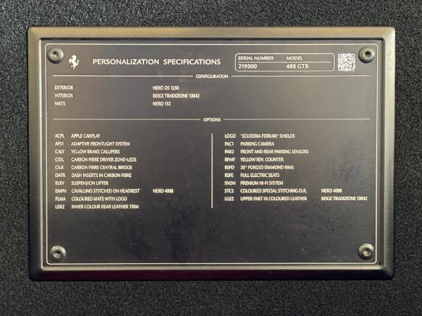 Used 2017 Ferrari 488 GTB for sale $240,900 at Alfa Romeo of Westport in Westport CT 06880 20