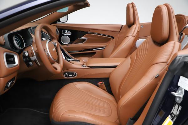 New 2020 Aston Martin DB11 Volante Convertible for sale $242,036 at Alfa Romeo of Westport in Westport CT 06880 21