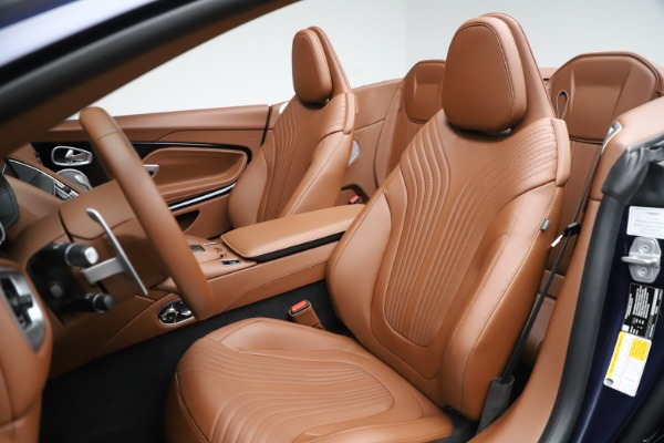 New 2020 Aston Martin DB11 Volante Convertible for sale $242,036 at Alfa Romeo of Westport in Westport CT 06880 23