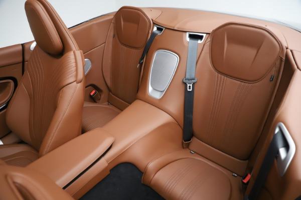 New 2020 Aston Martin DB11 Volante Convertible for sale $242,036 at Alfa Romeo of Westport in Westport CT 06880 24