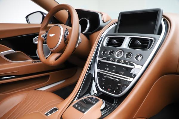 New 2020 Aston Martin DB11 Volante Convertible for sale $242,036 at Alfa Romeo of Westport in Westport CT 06880 25