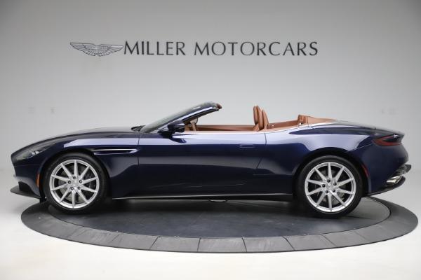 New 2020 Aston Martin DB11 Volante Convertible for sale $242,036 at Alfa Romeo of Westport in Westport CT 06880 3