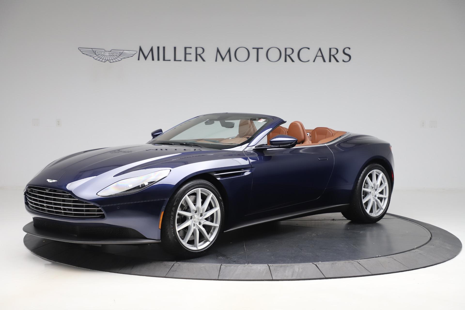 New 2020 Aston Martin DB11 Volante Convertible for sale $242,036 at Alfa Romeo of Westport in Westport CT 06880 1