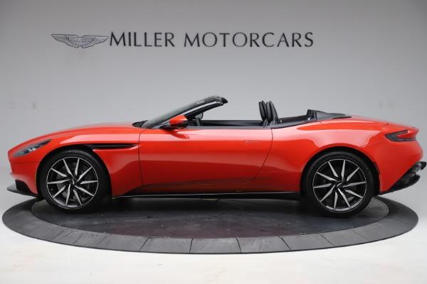 New 2020 Aston Martin DB11 Volante Convertible for sale $254,531 at Alfa Romeo of Westport in Westport CT 06880 2