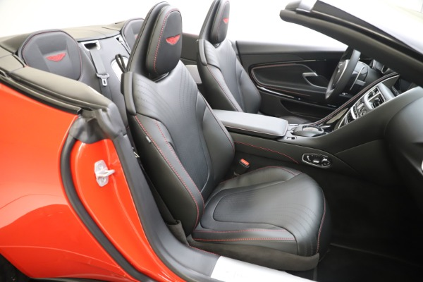 New 2020 Aston Martin DB11 Volante Convertible for sale $254,531 at Alfa Romeo of Westport in Westport CT 06880 20