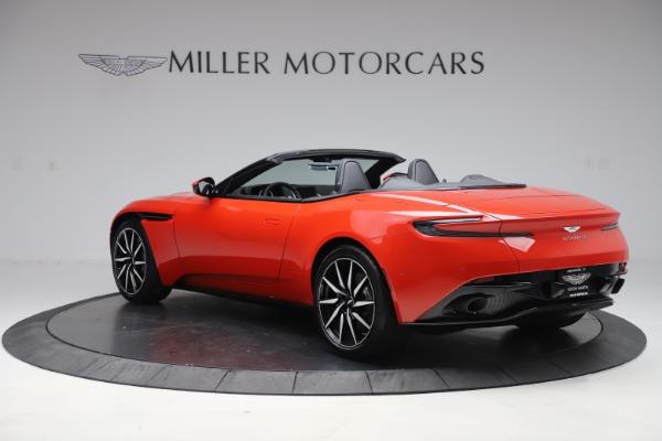 New 2020 Aston Martin DB11 Volante Convertible for sale $254,531 at Alfa Romeo of Westport in Westport CT 06880 4