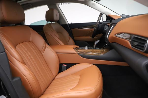 New 2019 Maserati Levante Q4 GranLusso for sale $89,550 at Alfa Romeo of Westport in Westport CT 06880 20