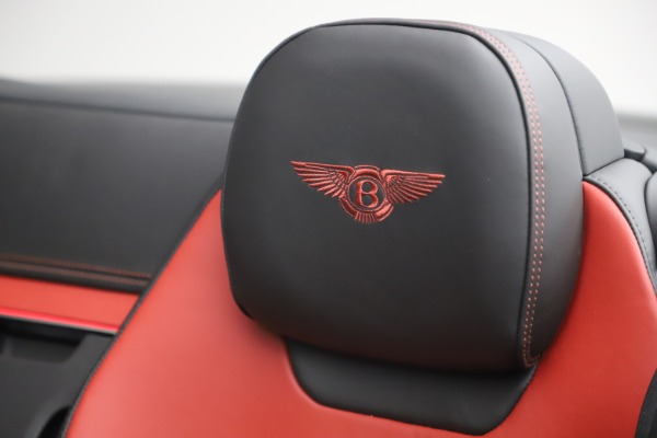 New 2020 Bentley Continental GTC V8 for sale $271,550 at Alfa Romeo of Westport in Westport CT 06880 27