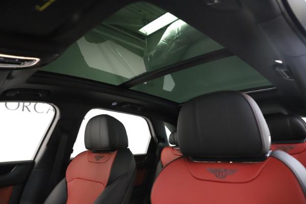 New 2020 Bentley Bentayga V8 for sale $195,265 at Alfa Romeo of Westport in Westport CT 06880 21
