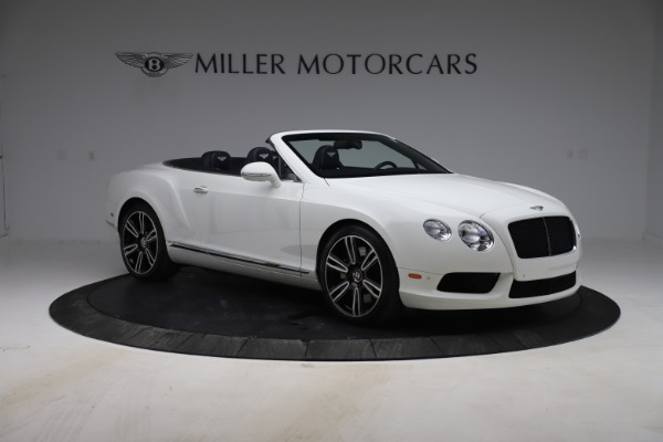 Used 2015 Bentley Continental GTC V8 for sale Sold at Alfa Romeo of Westport in Westport CT 06880 11