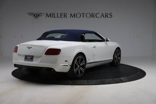 Used 2015 Bentley Continental GTC V8 for sale Sold at Alfa Romeo of Westport in Westport CT 06880 17