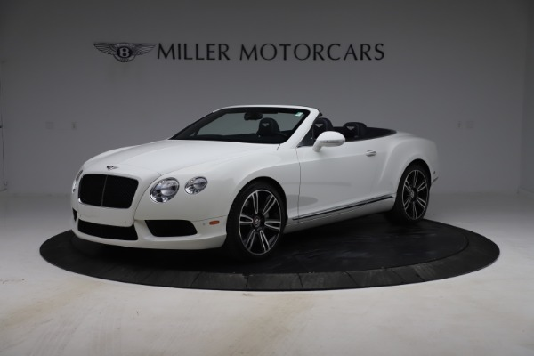 Used 2015 Bentley Continental GTC V8 for sale Sold at Alfa Romeo of Westport in Westport CT 06880 2