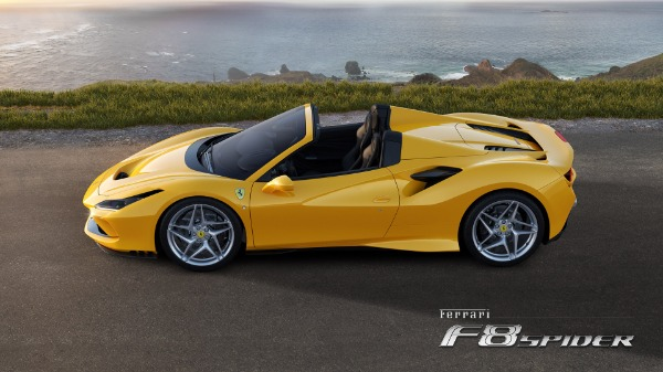 New 2021 Ferrari F8 Spider for sale Call for price at Alfa Romeo of Westport in Westport CT 06880 2