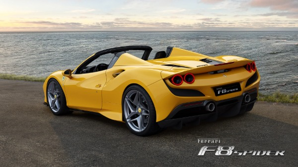 New 2021 Ferrari F8 Spider for sale Call for price at Alfa Romeo of Westport in Westport CT 06880 4