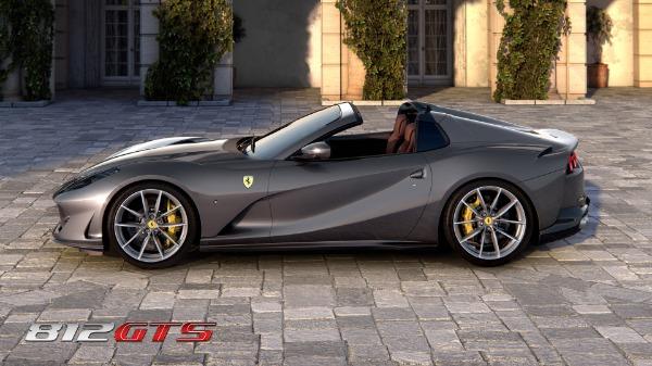 New 2020 Ferrari 812GTS for sale Call for price at Alfa Romeo of Westport in Westport CT 06880 3