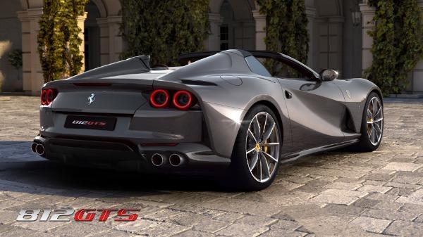 New 2021 Ferrari 812GTS for sale Call for price at Alfa Romeo of Westport in Westport CT 06880 5