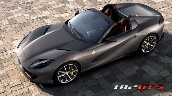 New 2021 Ferrari 812GTS for sale Call for price at Alfa Romeo of Westport in Westport CT 06880 1