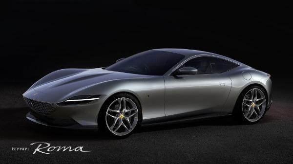 New 2021 Ferrari Roma for sale Call for price at Alfa Romeo of Westport in Westport CT 06880 1