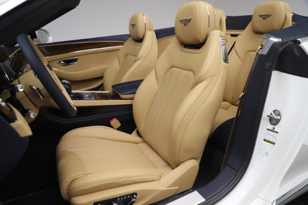 New 2020 Bentley Continental GTC V8 for sale $262,475 at Alfa Romeo of Westport in Westport CT 06880 26