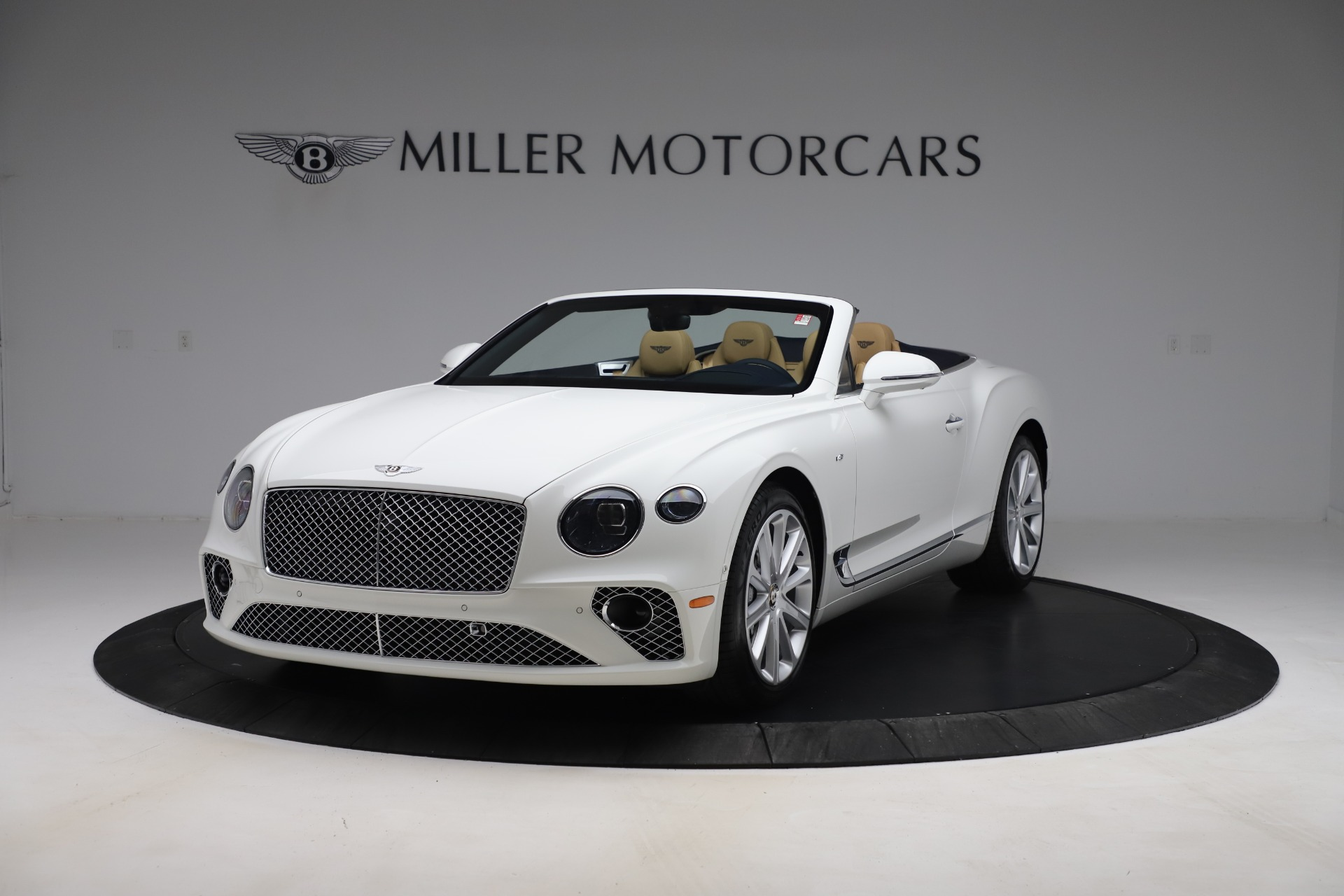 New 2020 Bentley Continental GTC V8 for sale $262,475 at Alfa Romeo of Westport in Westport CT 06880 1