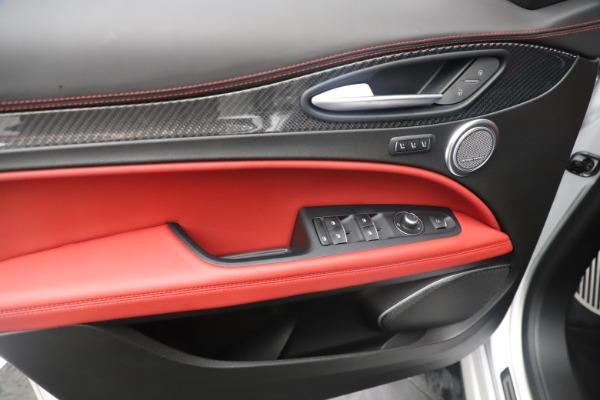 Used 2019 Alfa Romeo Stelvio Quadrifoglio for sale $68,000 at Alfa Romeo of Westport in Westport CT 06880 17