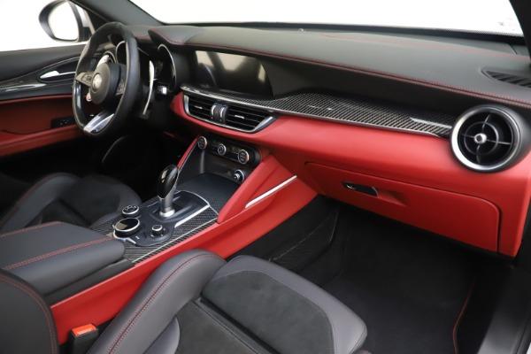 Used 2019 Alfa Romeo Stelvio Quadrifoglio for sale $68,000 at Alfa Romeo of Westport in Westport CT 06880 22