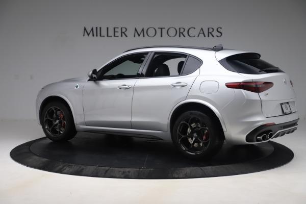 Used 2019 Alfa Romeo Stelvio Quadrifoglio for sale $68,000 at Alfa Romeo of Westport in Westport CT 06880 4