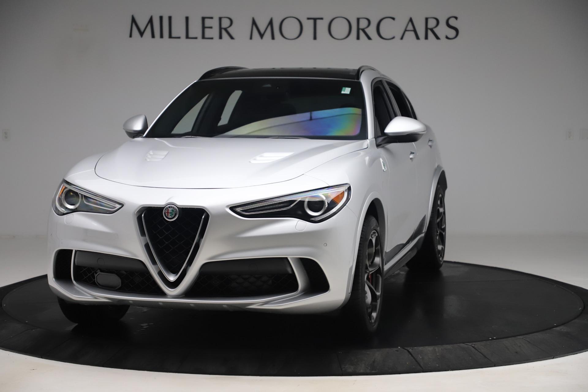 Used 2019 Alfa Romeo Stelvio Quadrifoglio for sale $68,000 at Alfa Romeo of Westport in Westport CT 06880 1