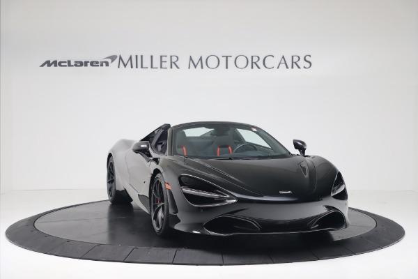 New 2020 McLaren 720S Spider Convertible for sale $383,090 at Alfa Romeo of Westport in Westport CT 06880 10
