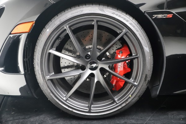 New 2020 McLaren 720S Spider Convertible for sale $383,090 at Alfa Romeo of Westport in Westport CT 06880 22