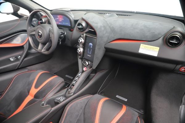 New 2020 McLaren 720S Spider Convertible for sale $383,090 at Alfa Romeo of Westport in Westport CT 06880 26
