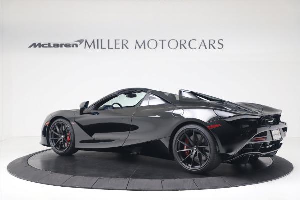 New 2020 McLaren 720S Spider Convertible for sale $383,090 at Alfa Romeo of Westport in Westport CT 06880 3