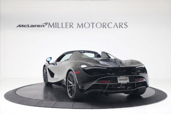 New 2020 McLaren 720S Spider Convertible for sale $383,090 at Alfa Romeo of Westport in Westport CT 06880 4