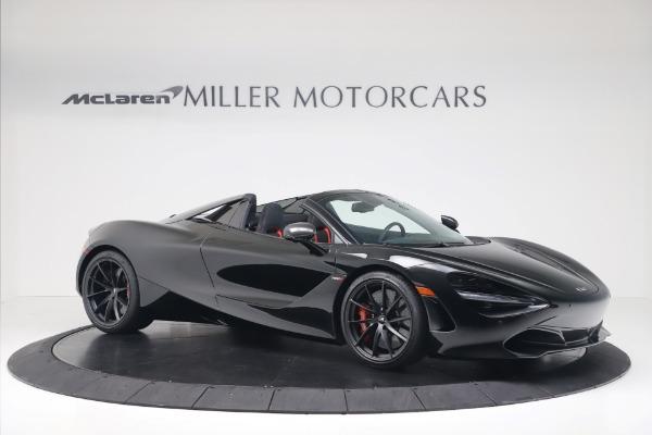 New 2020 McLaren 720S Spider Convertible for sale $383,090 at Alfa Romeo of Westport in Westport CT 06880 9