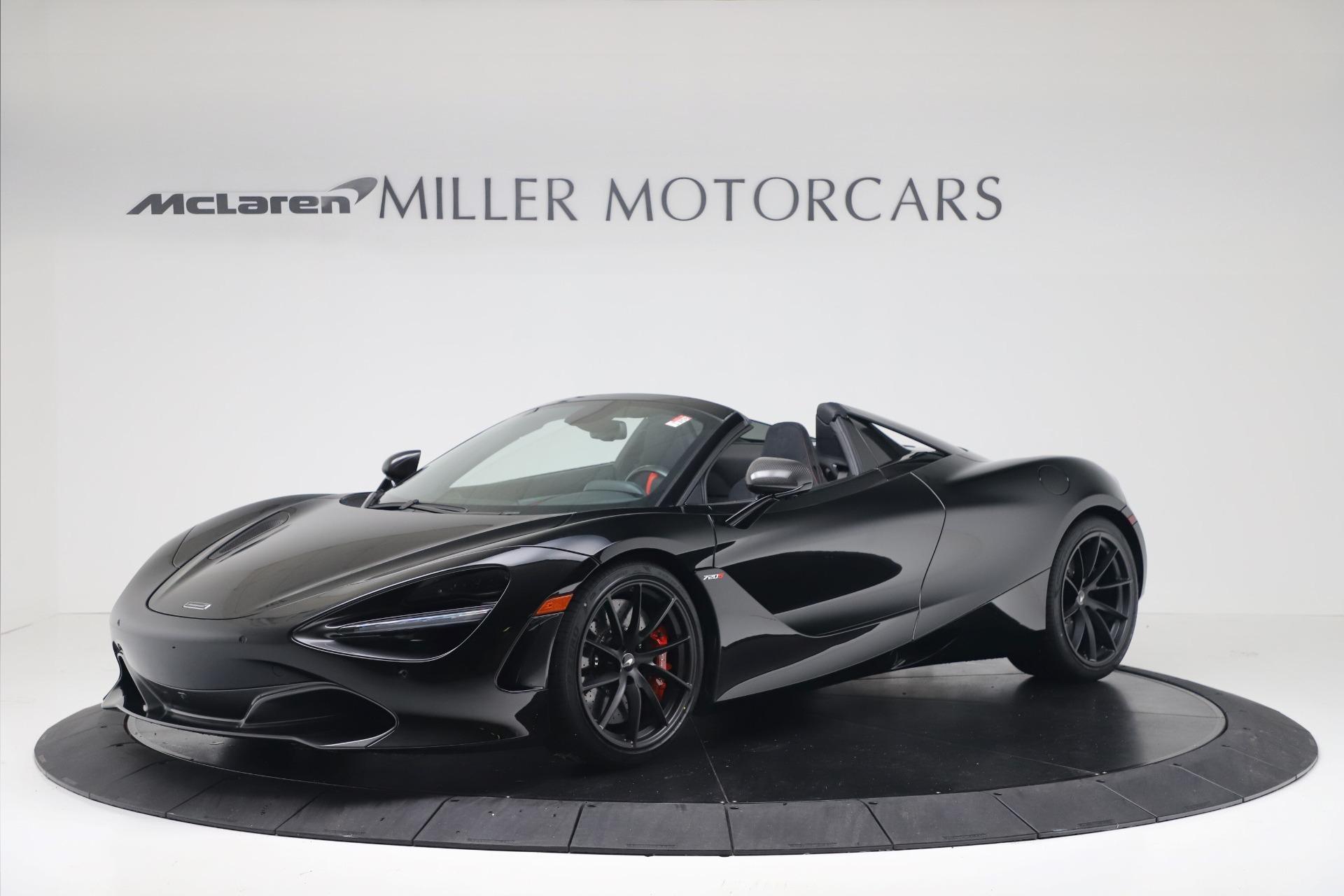 New 2020 McLaren 720S Spider Convertible for sale $383,090 at Alfa Romeo of Westport in Westport CT 06880 1
