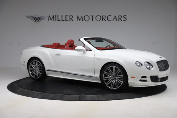 Used 2015 Bentley Continental GTC Speed for sale $125,900 at Alfa Romeo of Westport in Westport CT 06880 10
