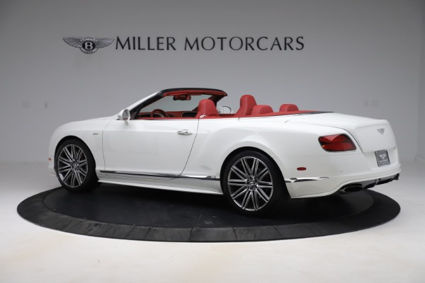 Used 2015 Bentley Continental GTC Speed for sale $125,900 at Alfa Romeo of Westport in Westport CT 06880 4